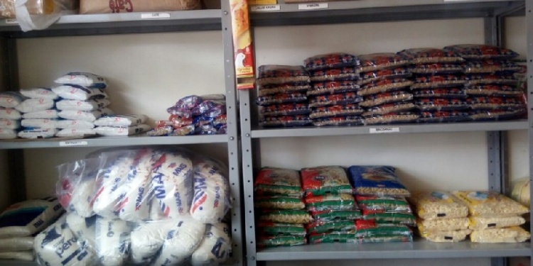 Comunidade em ação - hospital recebe mais de 1200kg de alimentos